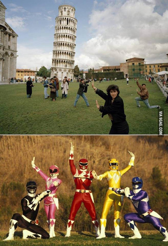 Power rangers unite.. - meme