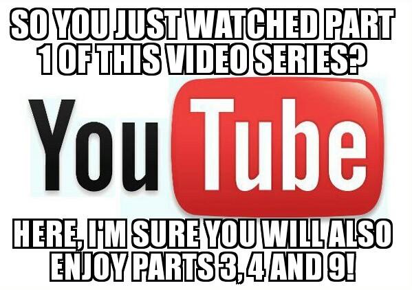 Damn you YouTube - meme