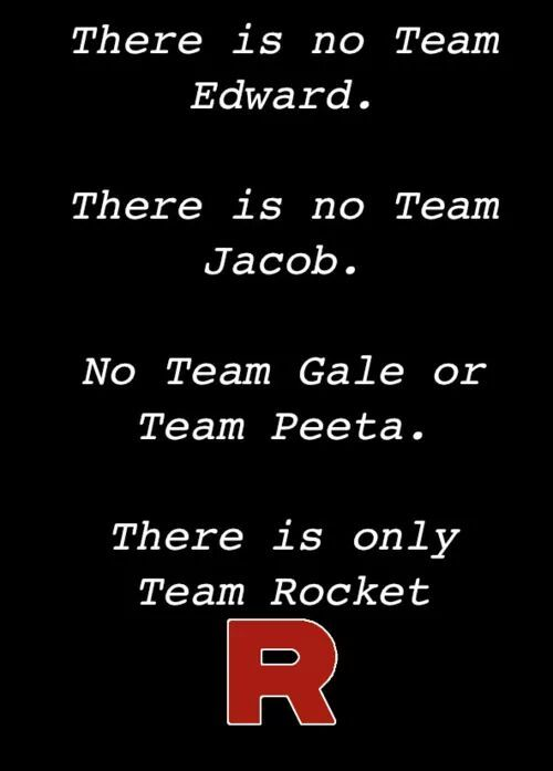Team rocket - meme
