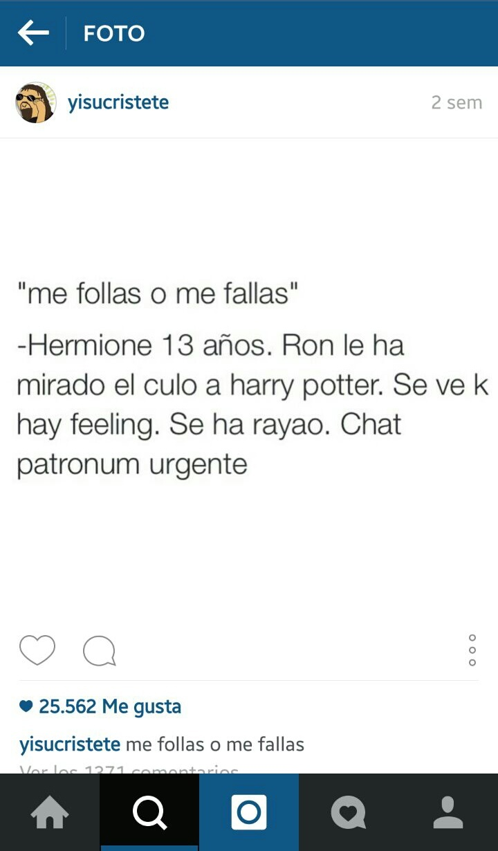 Pobre Hermione - meme