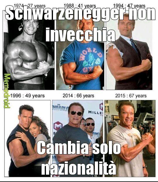 Schwarzenegger level: giapponese - meme