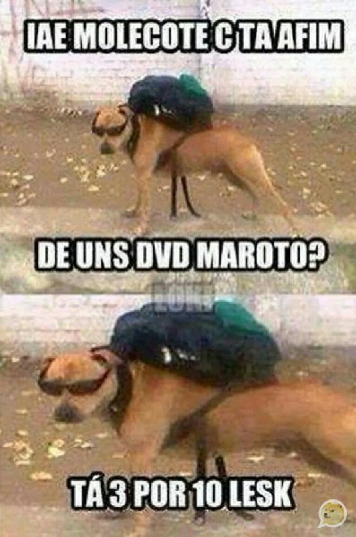 É CD do Paraguai - meme
