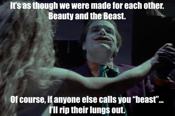 Beauty and The Beast - meme