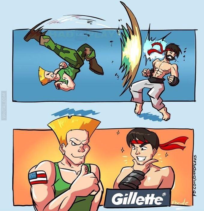 Solo Gillette - meme