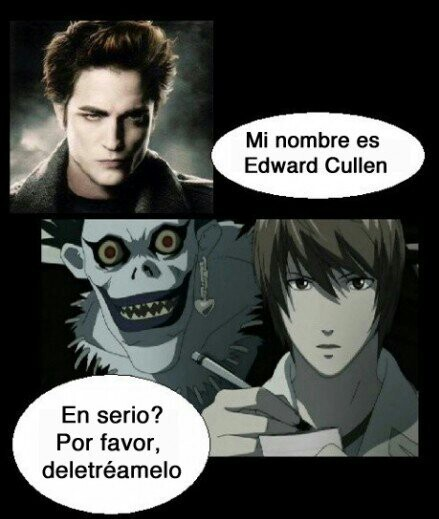 Cullen Vs. Kira~ xD - meme