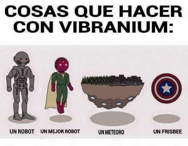 Vibranium - meme