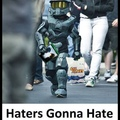 :v haters gonna hate