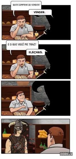 Skyrim - meme