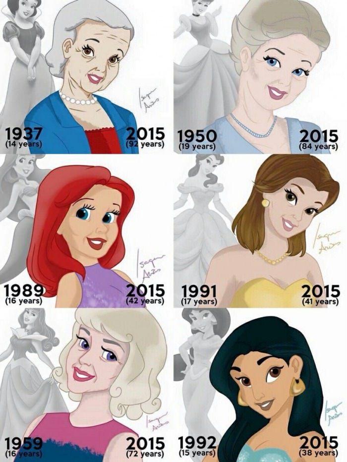 Princesses Disney - meme
