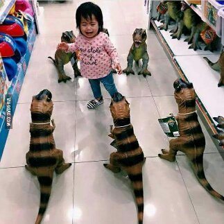 When a toy store turns into the hell store - meme