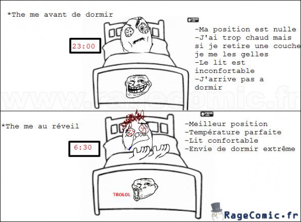 Le lit - meme