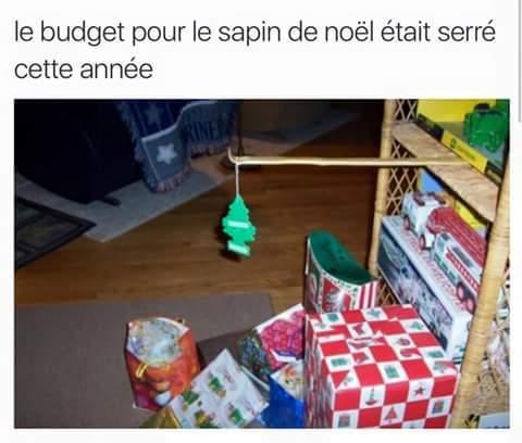 Le budjet - meme