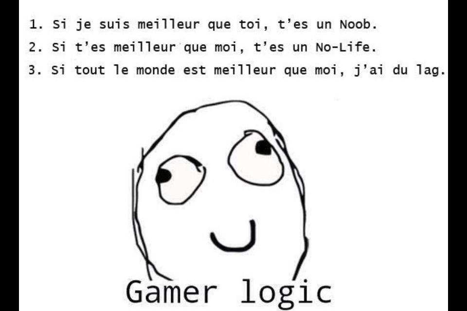 gamer Logic - meme