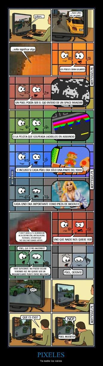 Pixel muerto - meme