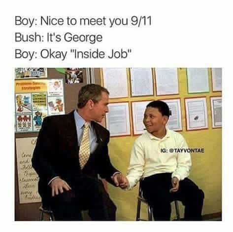 Inside job was a 9/11 - meme