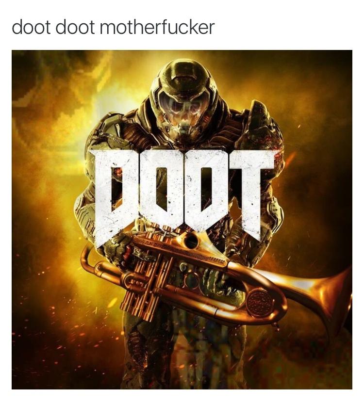 #DootLikeHell - meme