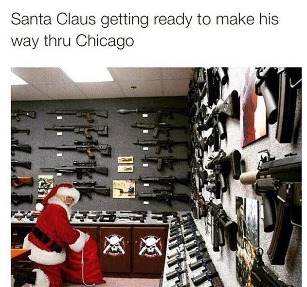 Chicagp ride or die - meme