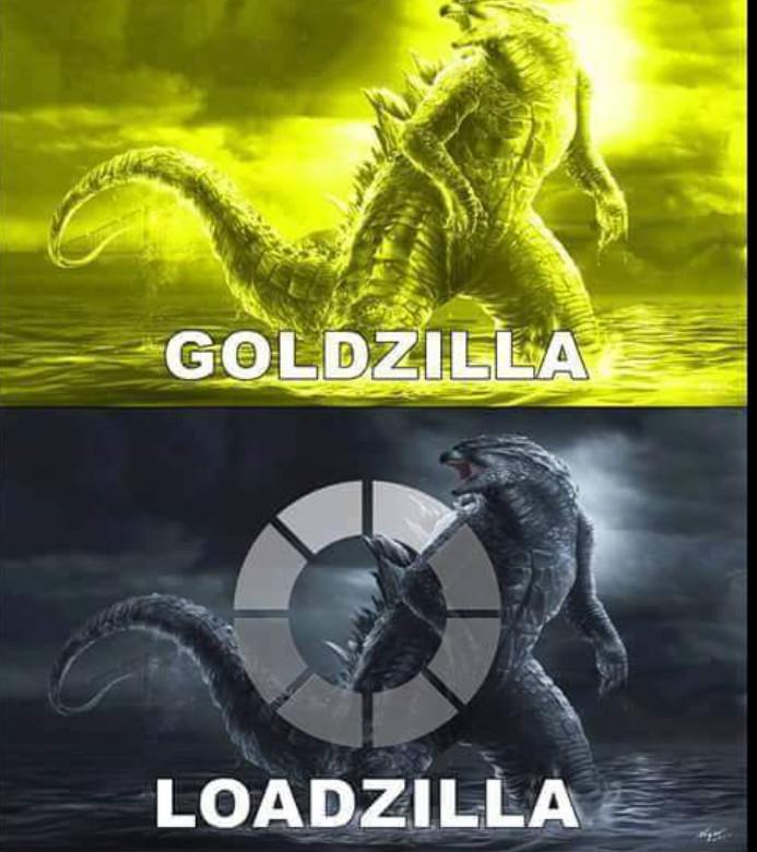 Trocadilhos com o lagarto mutante - meme