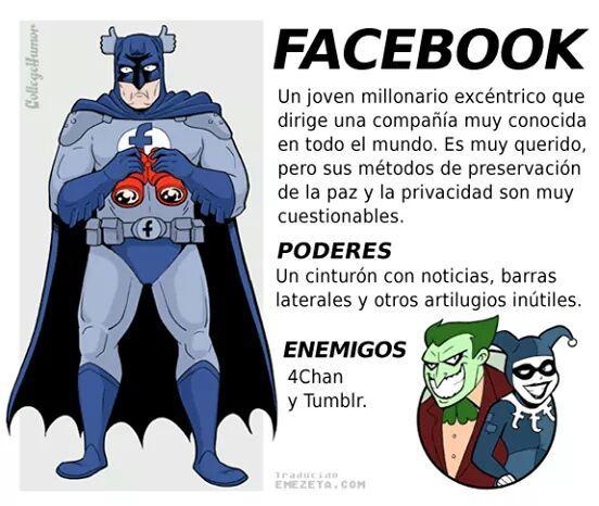 ahora facebook - meme