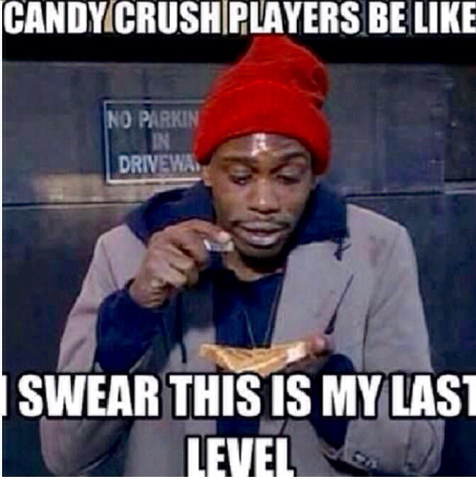 Candy Crush - meme