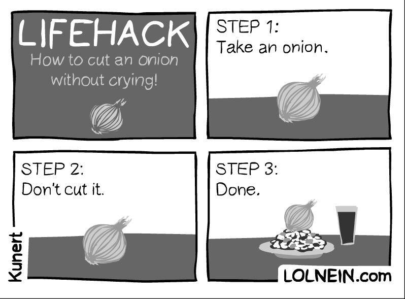 onions smell - meme