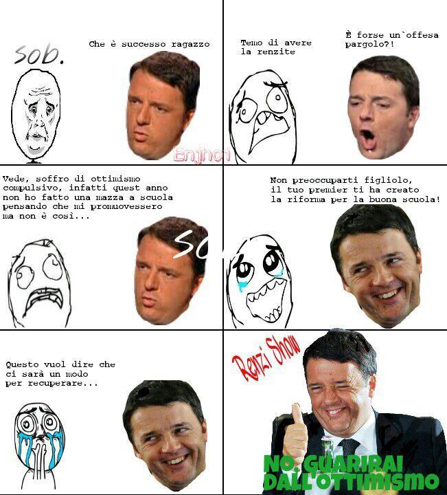 Renzi Show - meme