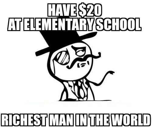 Elementary school - meme