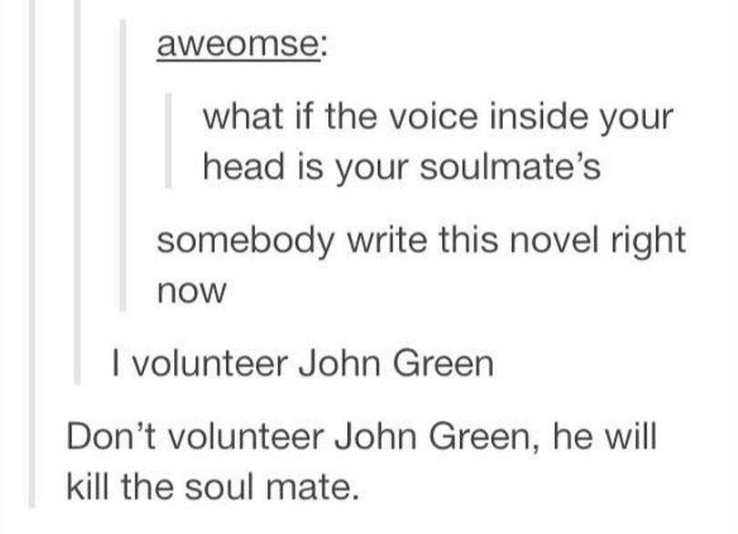 John green - meme