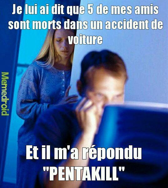 PENTAKILL - meme