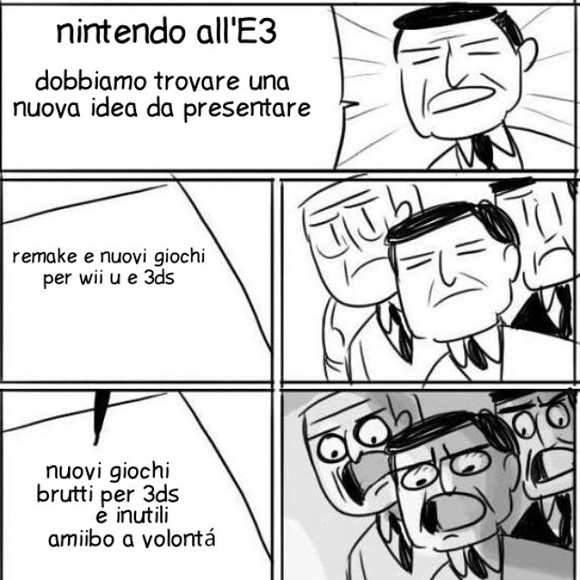 Nintendo all'E3 - meme