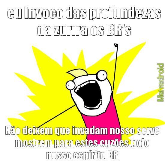 DA BILADA NELES BR's..... - meme