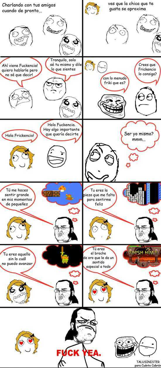 Ligue nivel friki xD - meme