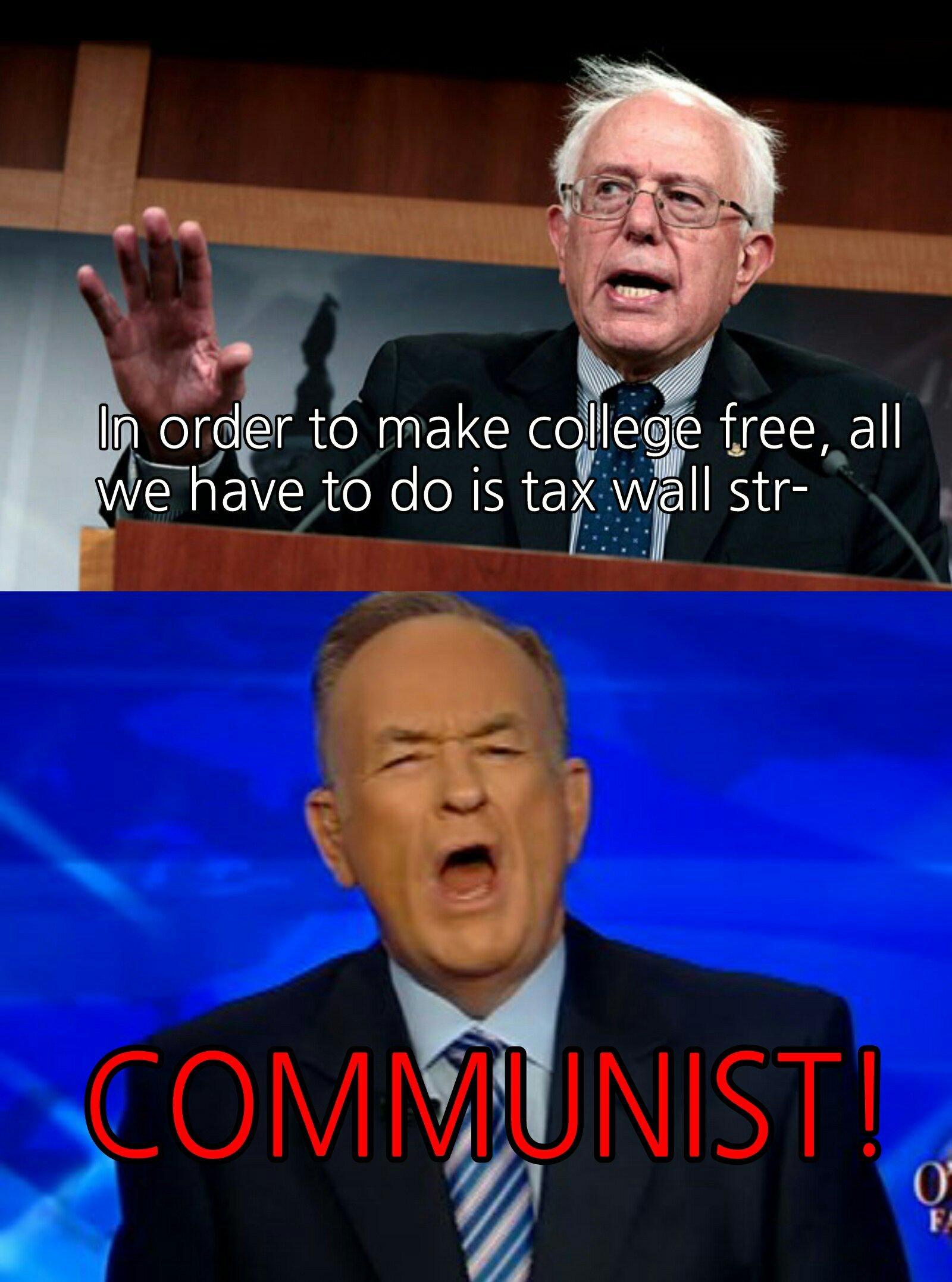 America shall feel the Bern - meme