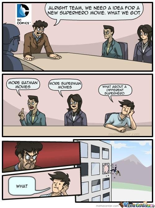 Please , DC - meme