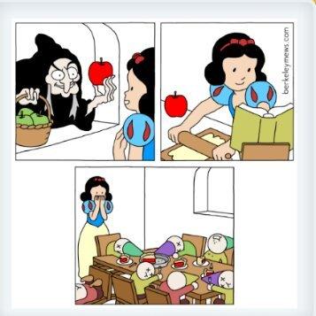 Manzanita en maikra - meme