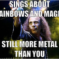 one the greatest metal people ever, rip Ronnie James Dio