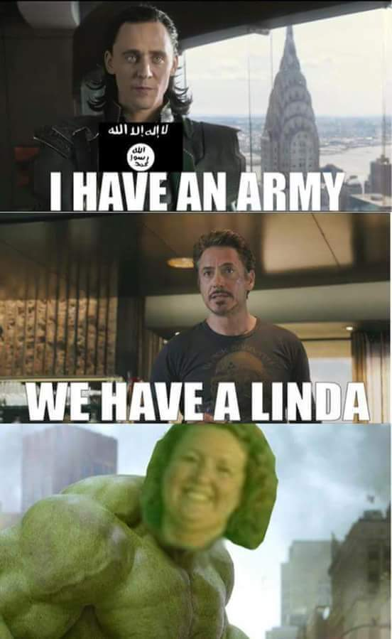 hit the follow button linda - meme