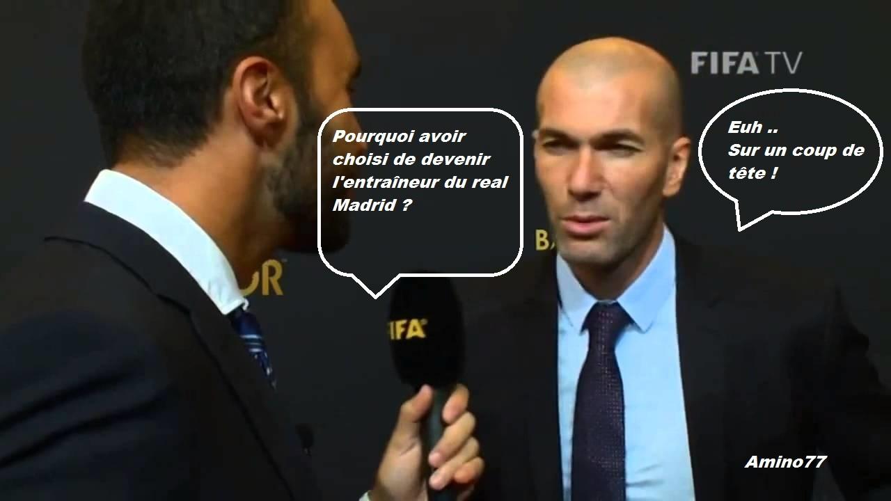 Zidane a tout compris ! - meme