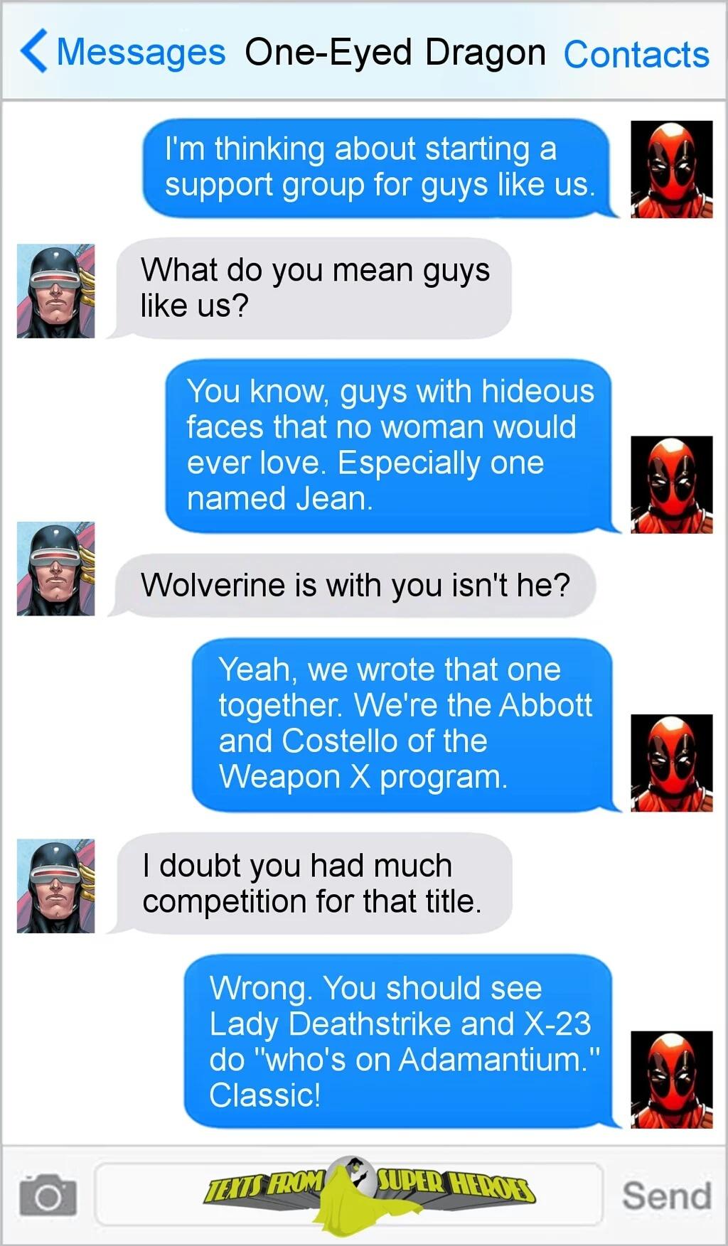 I heart Deadpool - meme