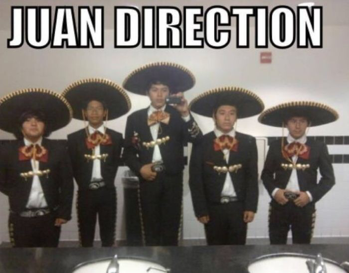 Juan Direction - meme