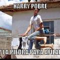 Harry pobre