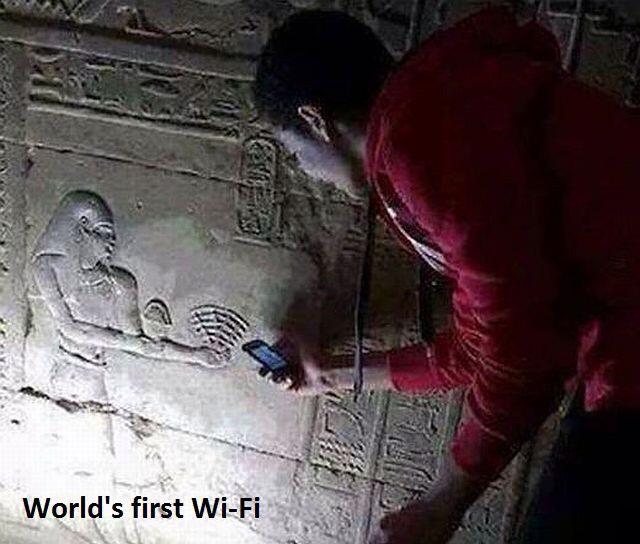 La wifi en Égypte - meme