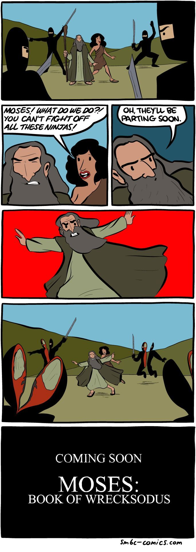 we should never part ways with moses - meme