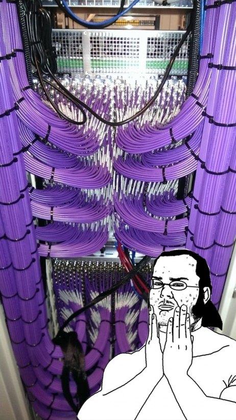 cableado perfecto - meme