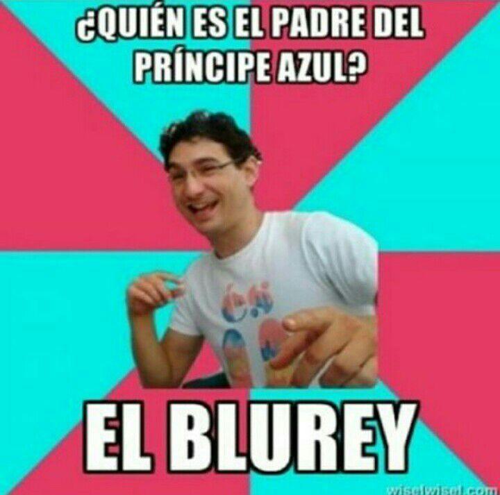 Blue-Rey: Rey Azul, retrasao' - meme