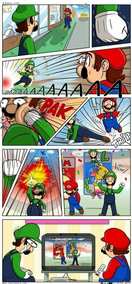 Pauvre Luigi - meme