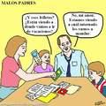 malos padres.