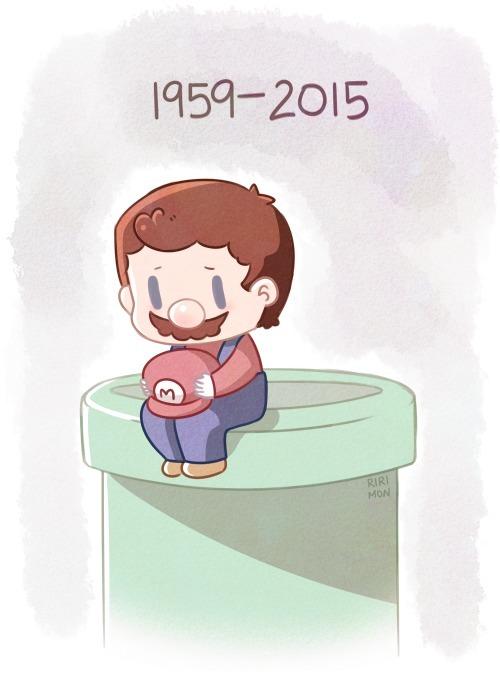 Pobre Mario ... :( - meme