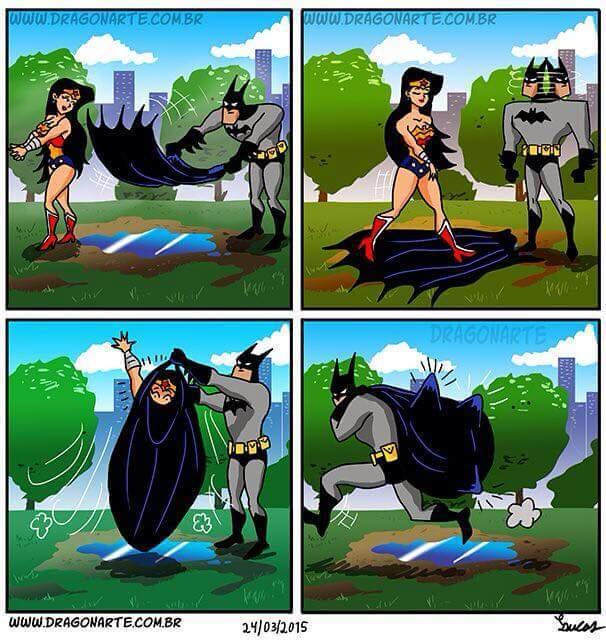 Ese batman es todo un lokillo ,................,............................. - meme