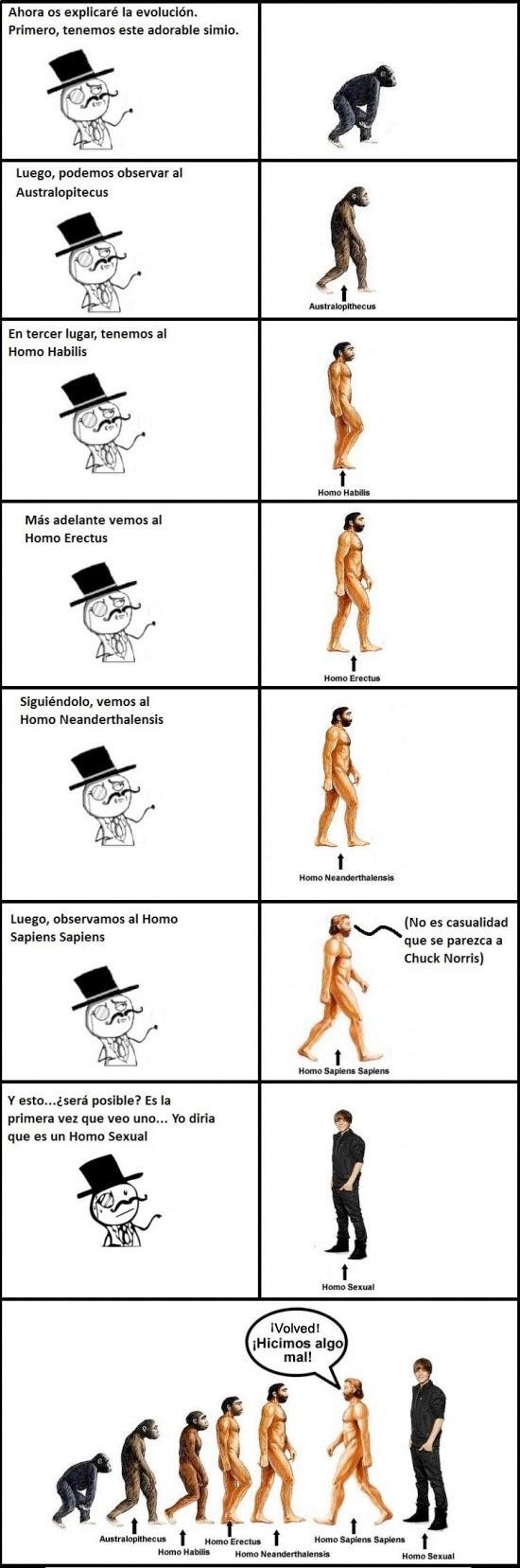 por eso chicos es que se evoluciona bien - meme